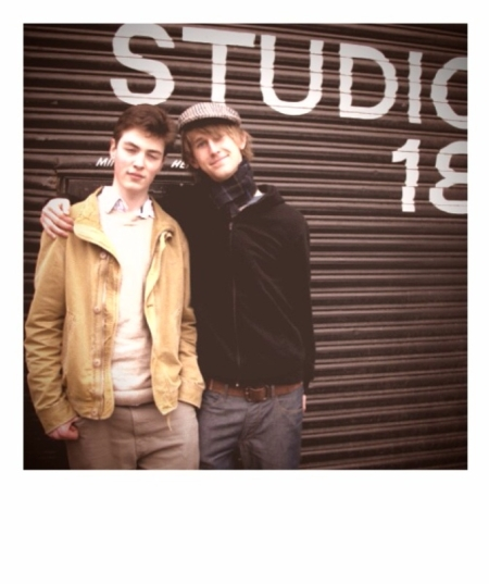 Luke Hayman and Toby Luttrell